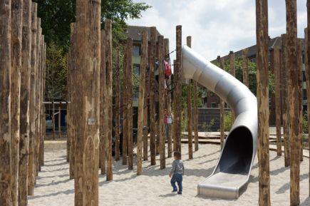 Urban Playground Slide